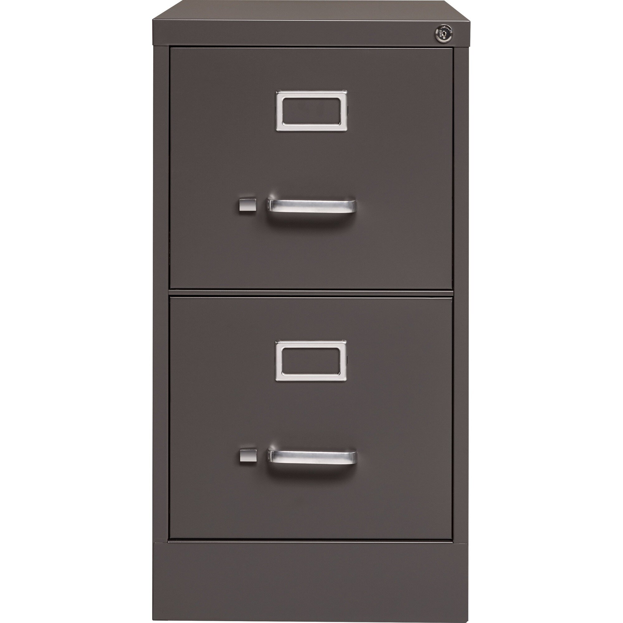 Picture of: Lorell Fortress 2 Drawer Vertical Filing Cabinet