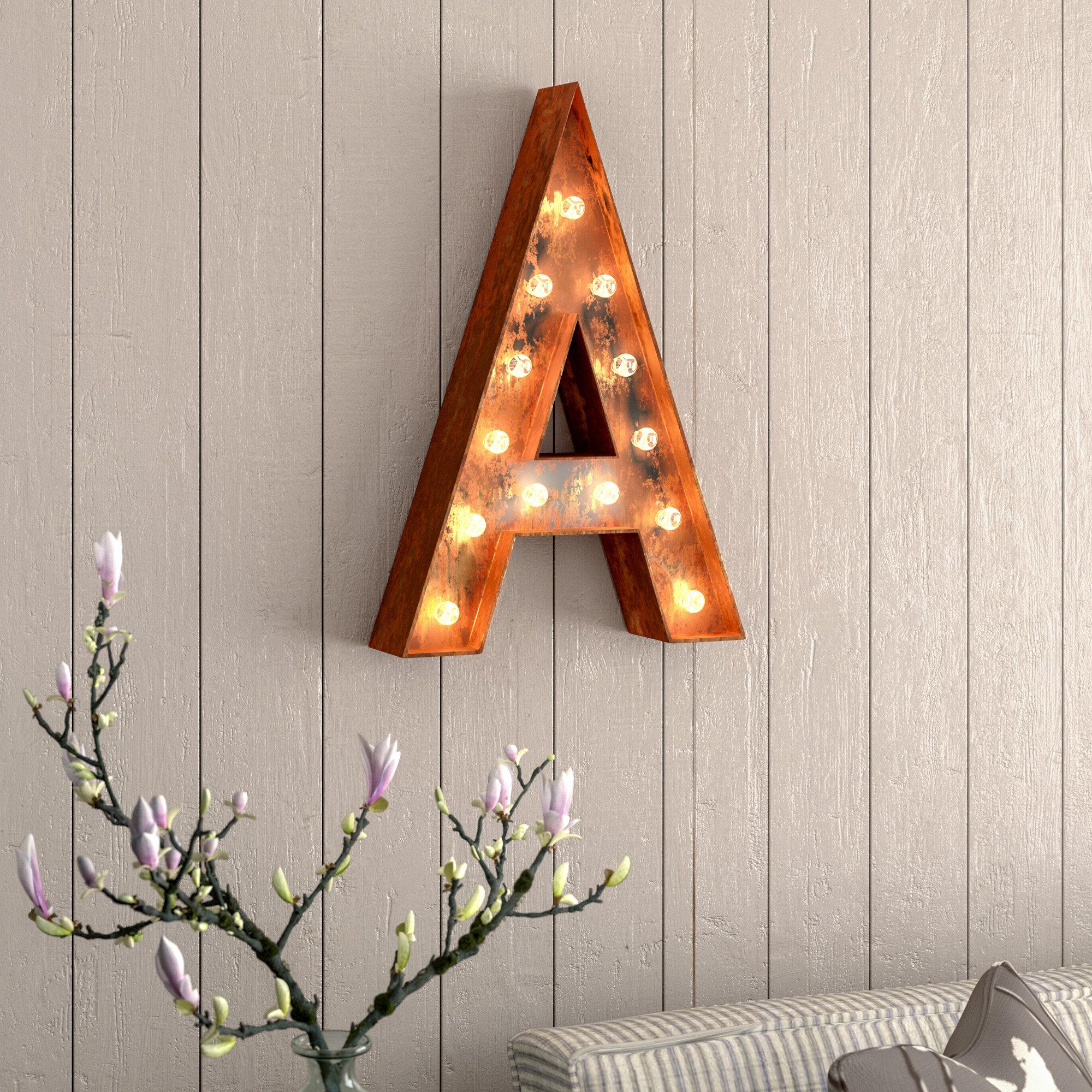 letter wall decor canada
