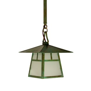 Check Prices Carmel 1-Light Outdoor Hanging Lantern By Arroyo Craftsman
