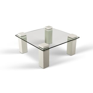 Ranchester Glass Coffee Table Greyleigh