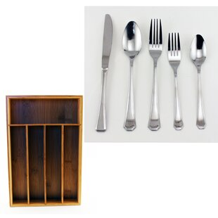 25 Piece Flatware Set by BergHOFF International Design