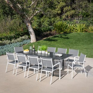 Latitude Run Bayshore 11 Piece Dining Set