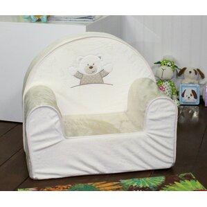 Cruz Plush Toddler Foam Club Chair by Harriet Bee