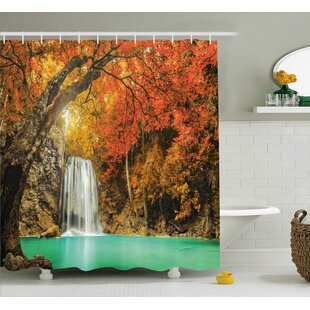 Clovis Majestic Waterfall Decor Single Shower Curtain