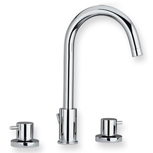Whitehaus Collection Luxe Widespread Bathroom Faucet with
