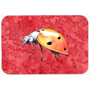 Review Lady Bug Glass Cutting Board By Caroline's Treasures