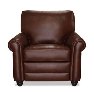 Lambdin Leather Power Wall Hugger Recliner