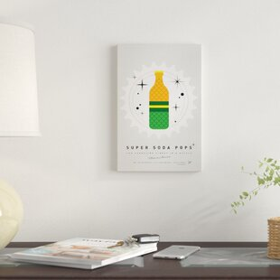 'Super Soda Pops XIX' Graphic Art Print on Canvas By East Urban Home