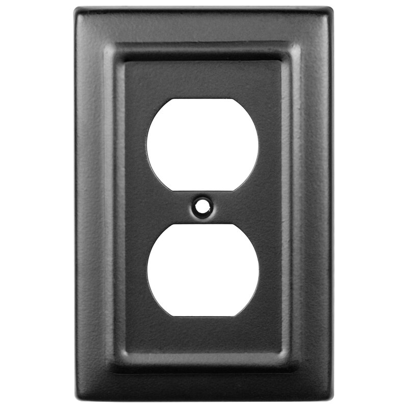 Monarch Abode Architectural 1 Gang Duplex Outlet Wall Plate Reviews Wayfair