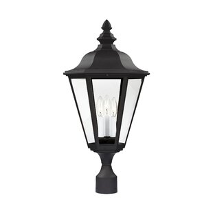 Alvara 3-Light Lantern Head By Bloomsbury Market Outdoor Lighting