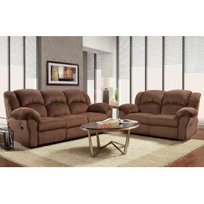 Napoleon 2 Piece Living Room Set by Red Barr..