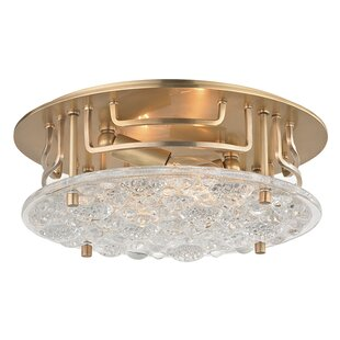 Mercer41 Carterton 2-Light Flush Mount