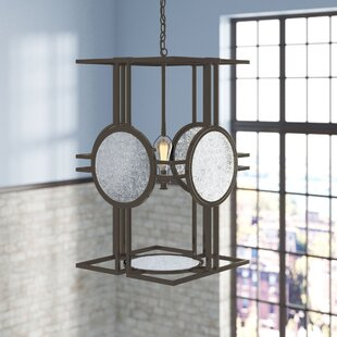 Brayden Studio Rasheed 4-Light Square/Rectangle Chandelier