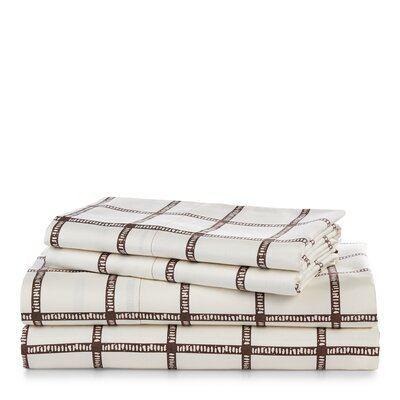 Lauren Ralph Lauren Dorian Windowpane Sheet Set Size: Queen