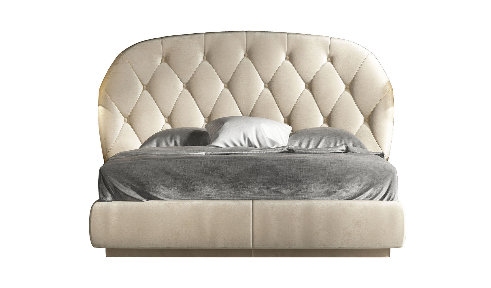 Rosdorf Park Kieffer Tufted Solid Wood And Upholstered Standard Bed Wayfair