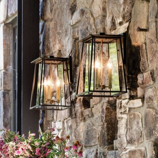 Reviews Walker 3-Light Outdoor Wall Lantern By Hinkley Lighting