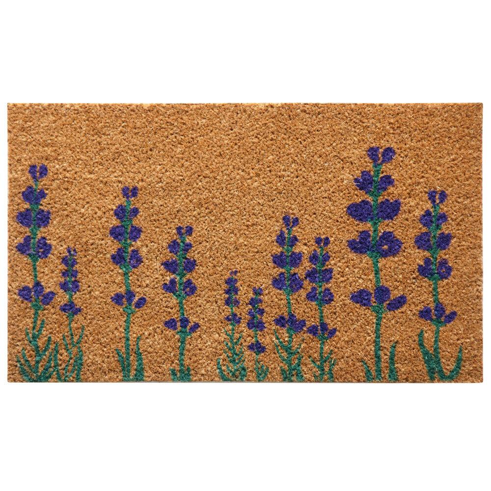Welcome Remove Shoes Tropical Flower Coral Color Design Indoor Rug Door Mat
