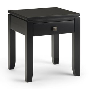 Affordable Price Amador End Table with Storage by Alcott Hill