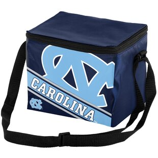 6 Can NCAA Big Logo Stripe Picnic Cooler
