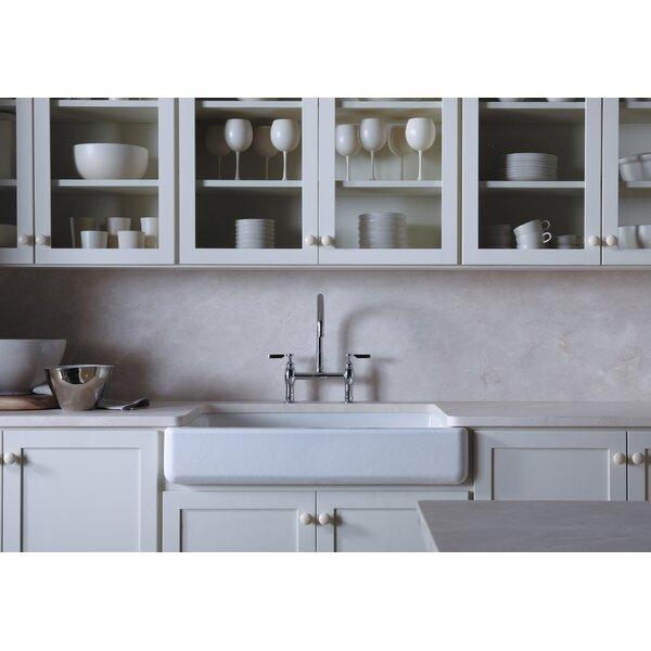 Whitehaven Self T 35 11 16 L X 21 9 W 5 8 Under Mount Single Bowl Kitchen Sink With Short A