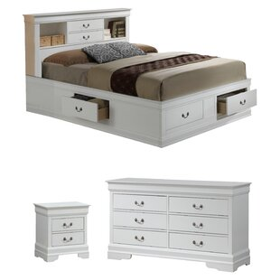Lisle Platform Configurable Bedroom Set