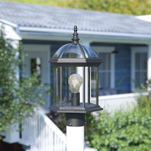 Read Reviews Adams 1-Light Lantern Head By Alcott Hill