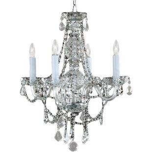 Glow Lighting Marissa 4-Light Candle Styl..