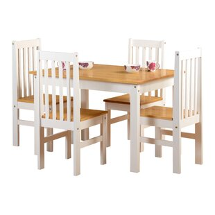 Shadow Dining Set with 4 Chairs  sc 1 st  Wayfair & Dining Table Sets Kitchen Table u0026 Chairs | Wayfair.co.uk