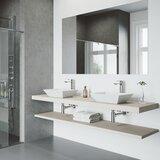 Matte Stone™ Rectangular Vessel Bathroom Sink with Faucet byVIGO