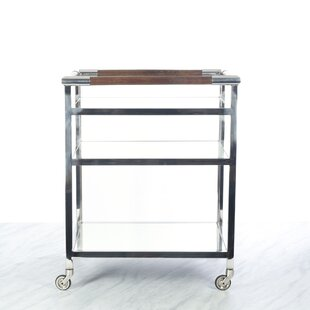 Anley Mirror Shelf Bar Cart