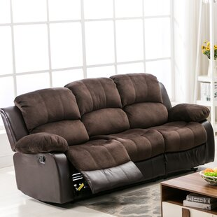 Brunswick Reclining Sofa by Ebern Designs Today Only Sale