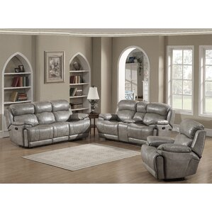 Estella 3 Piece Living Room Set by AC Pacific