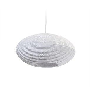 GrayPants Scraplight Disc 1-Light Globe Pendant