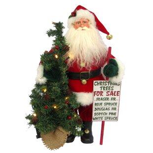 Led Christmas Tree for Sale Santa Figurine