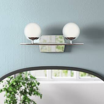 Williston Forge Concourse 2 Light Bath Bar Wayfair