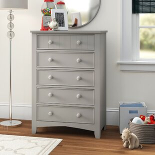 Chilhowie Transitional 5 Drawer Chest