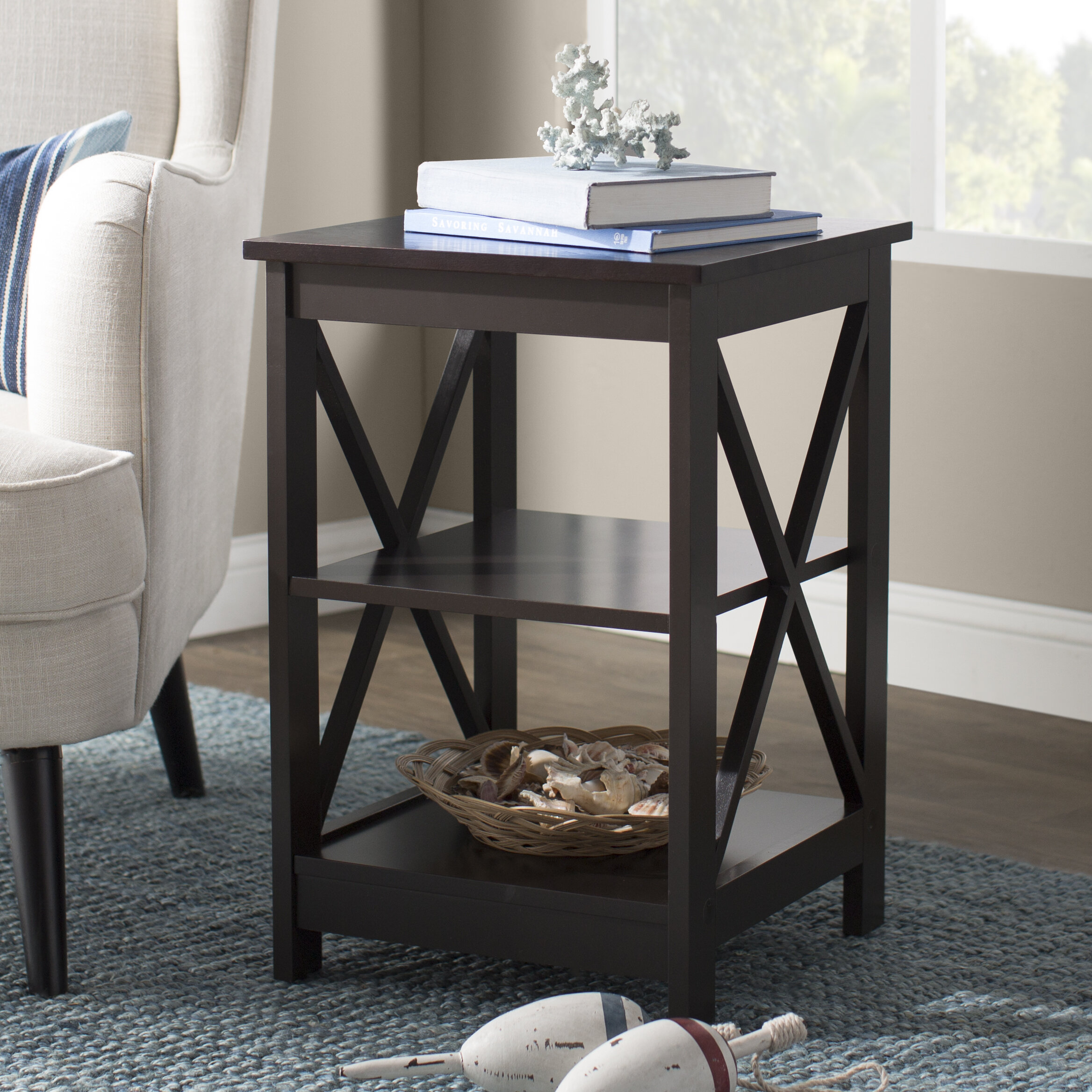 Beachcrest Home Stoneford End Table Reviews Wayfair
