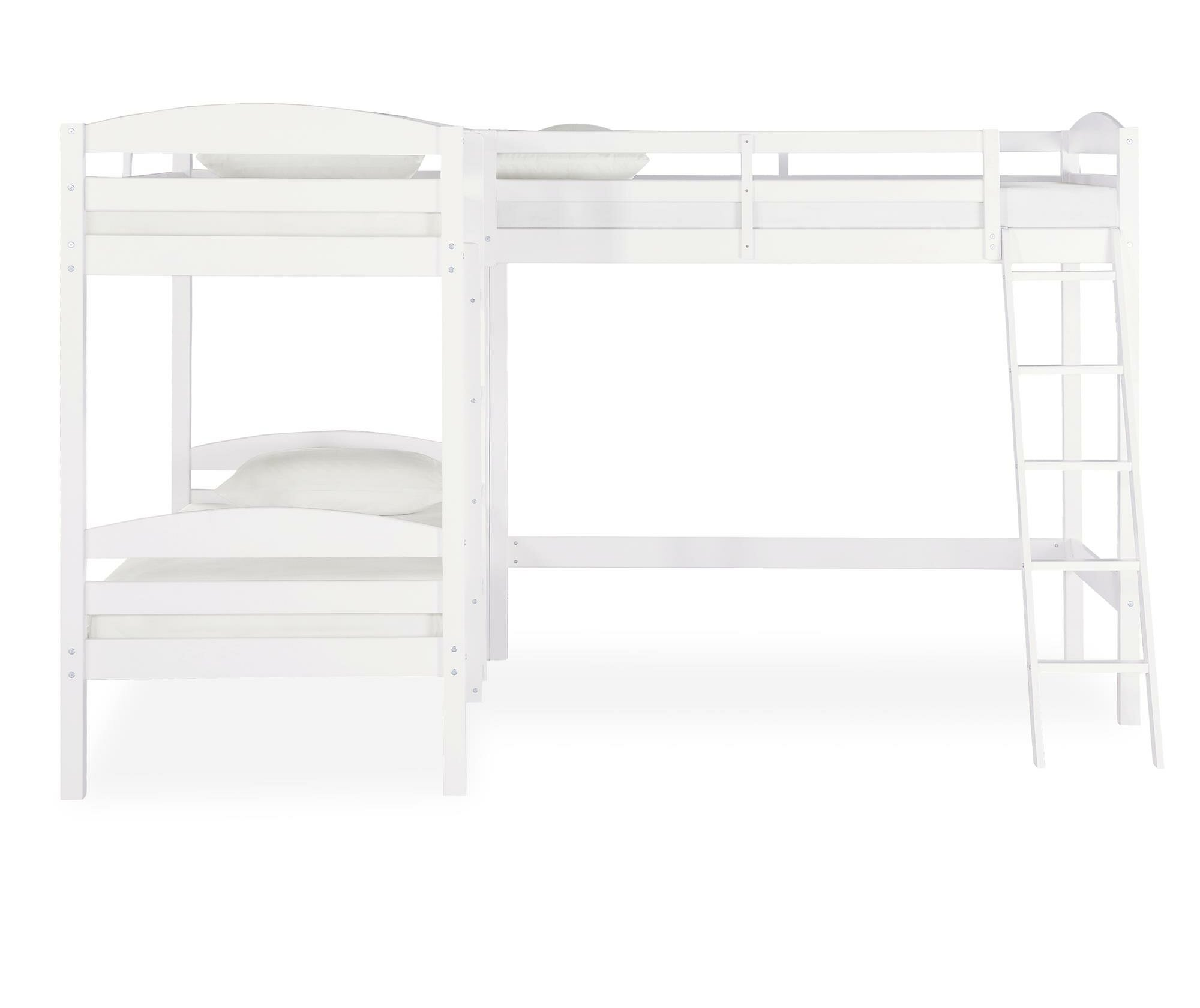 Bunk White Kids Beds You Ll Love In 2020 Wayfair
