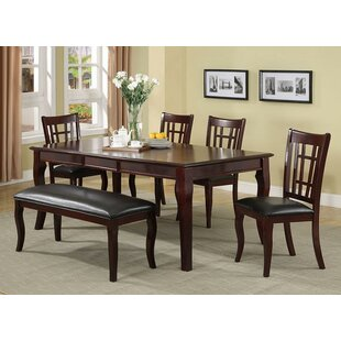 Hawk Haven 6 Piece Dining Set by Red Barr..