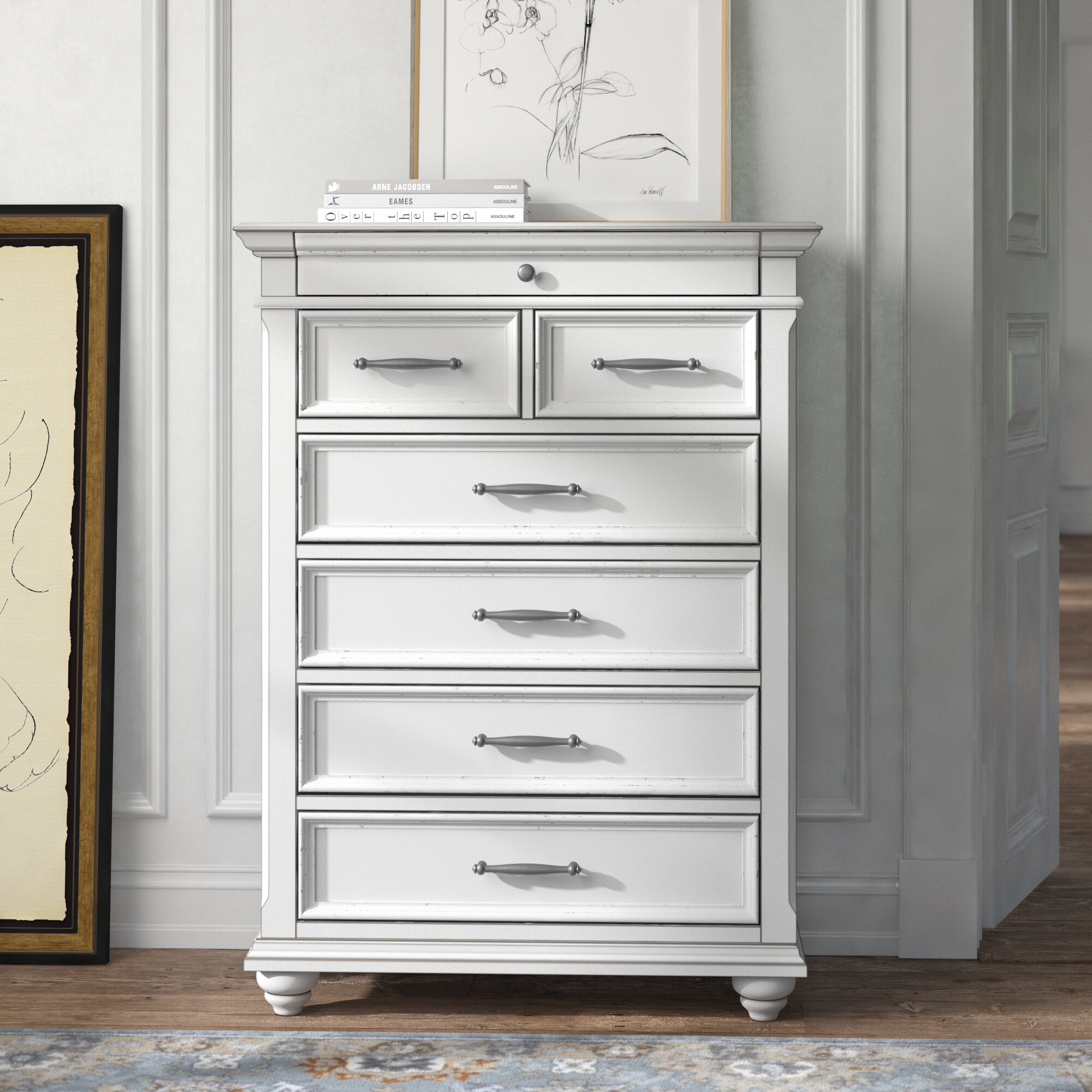 Kelly Clarkson Home Conard 7 Drawer Chest Reviews Wayfair