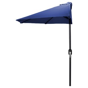 Beachcrest Home Sheehan 7' Half Market Umbrella