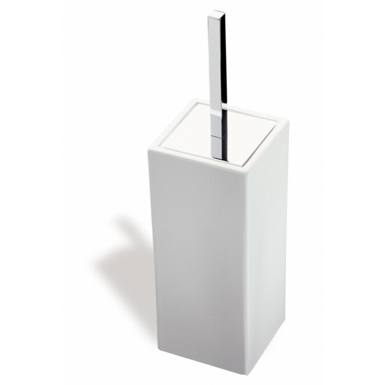 Stilhaus By Nameeks Urania 15in H Free Standing Toilet Brush And Holder Wayfair