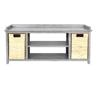Blanken Storage Bench by Rosecliff Heights