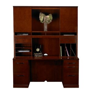 Sorrento Series Executive Desk With Hutch by Mayline Group Best