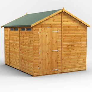 8 Ft. W X 10 Ft. D Solid Wood Garden Shed By WFX Utility