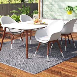 Colyer 5 Piece Dining Set with Cushions