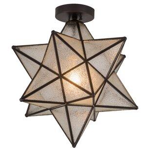 Moravian Star Hanging Light | Wayfair