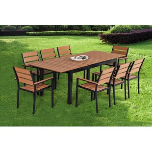 Caitlynne 9 Piece Dining Set