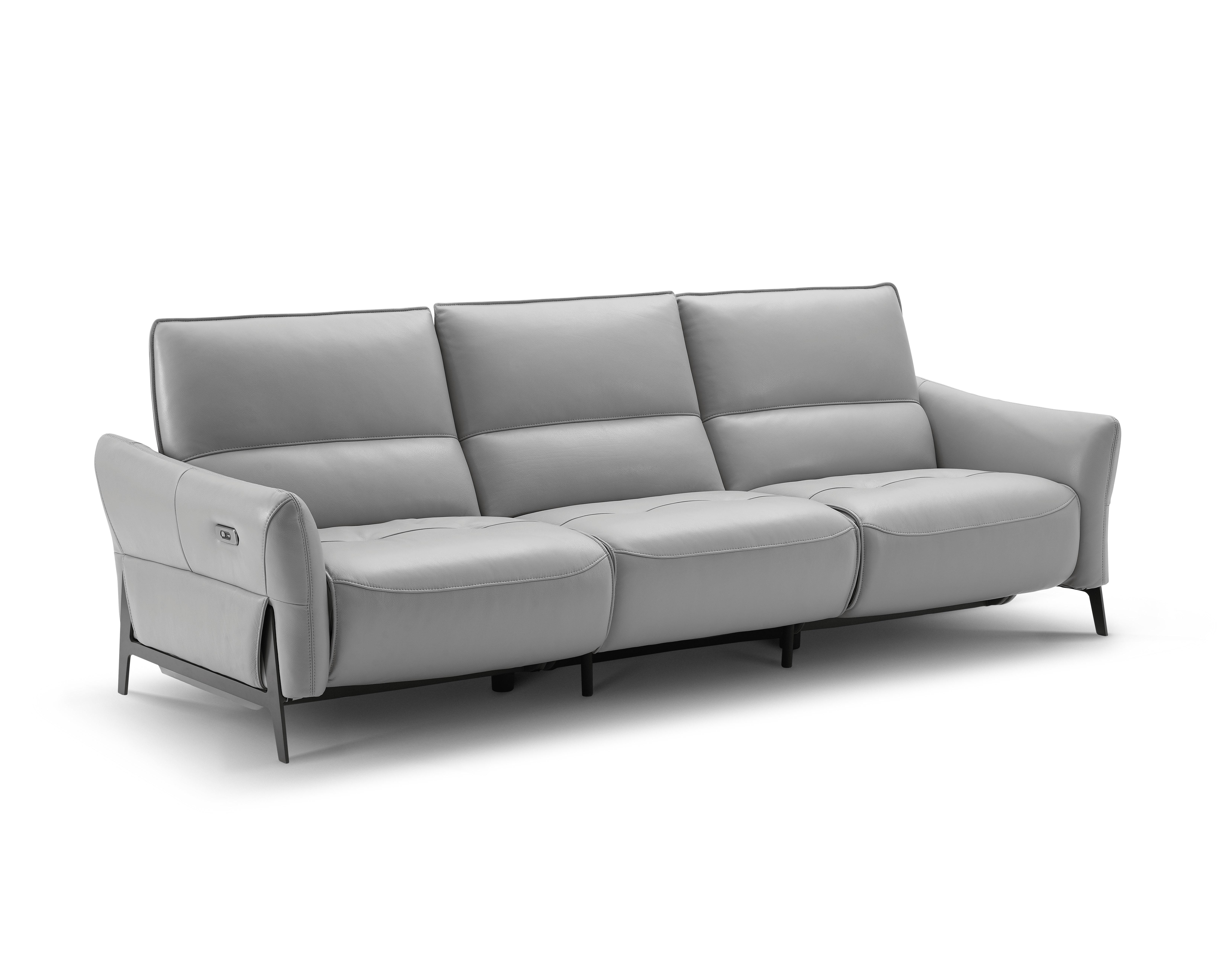 Incredible Orren Ellis Branchdale Leather Reclining Sofa Wayfair Ca Ncnpc Chair Design For Home Ncnpcorg
