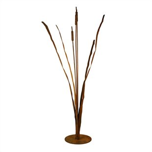 Patina Products Cattails Garden Statue